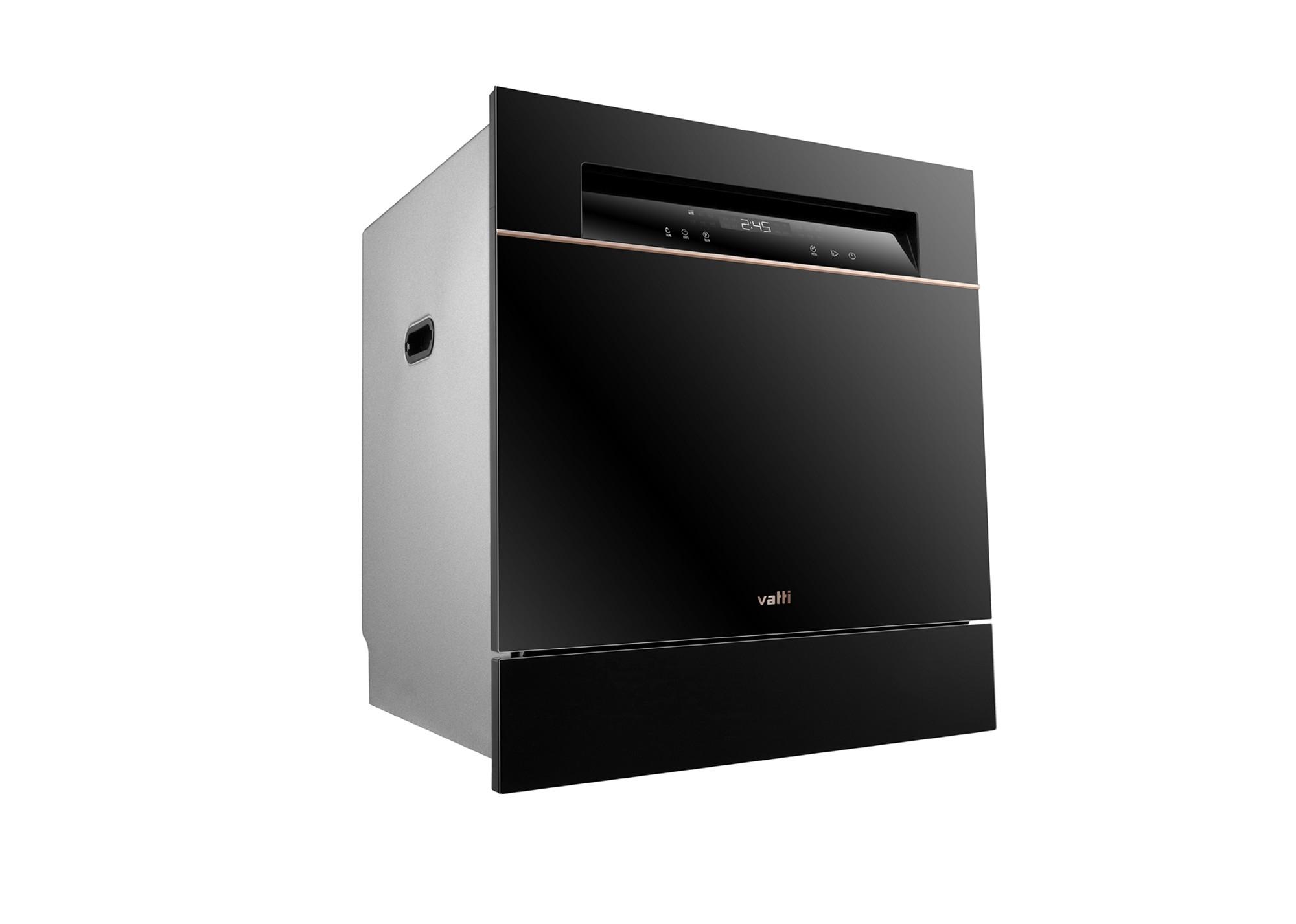 """一物降一""""污"""" 华帝JWV10-A6干态洗碗机打造厨房黑色传说"""