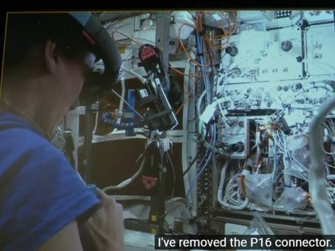 通过HoloLens远程协作,NASA用AR远程维护ISS实验设备