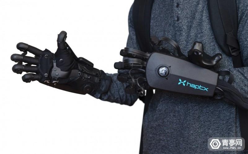 VR力反馈手套方案商HaptX与Haption展开合作