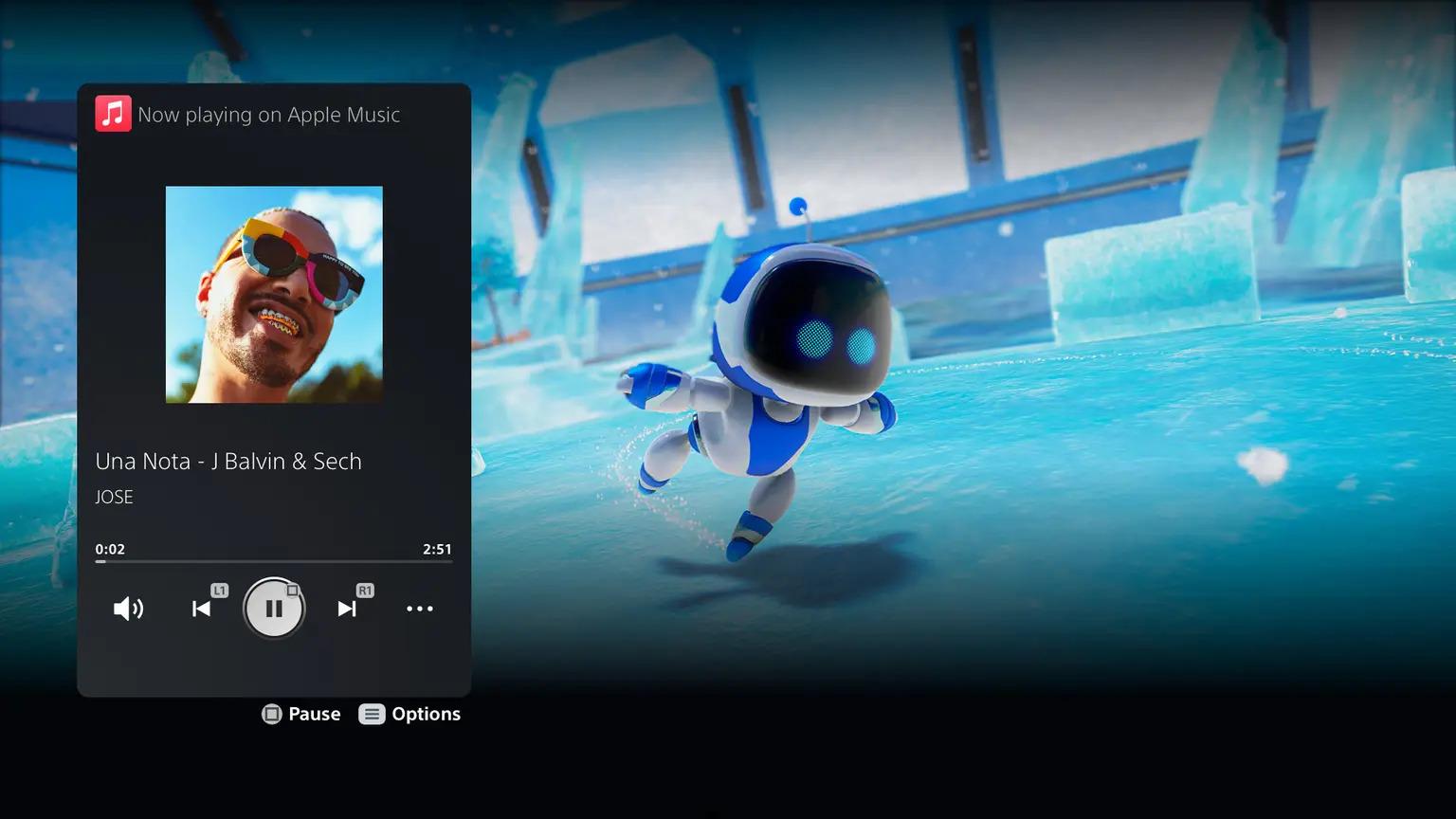 苹果Apple Music上架PS5:游戏机秒变音乐播放器