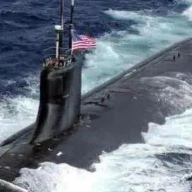 """美军核潜艇碰撞事件,人民日报""""钟声""""发声"""