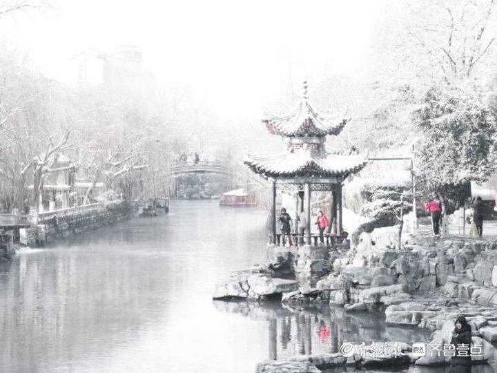 济南的冬天也很美,浓妆淡抹总相宜