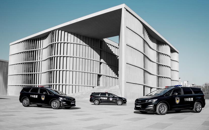 迄今最大规模 吉利向山西省交付332辆警务用车