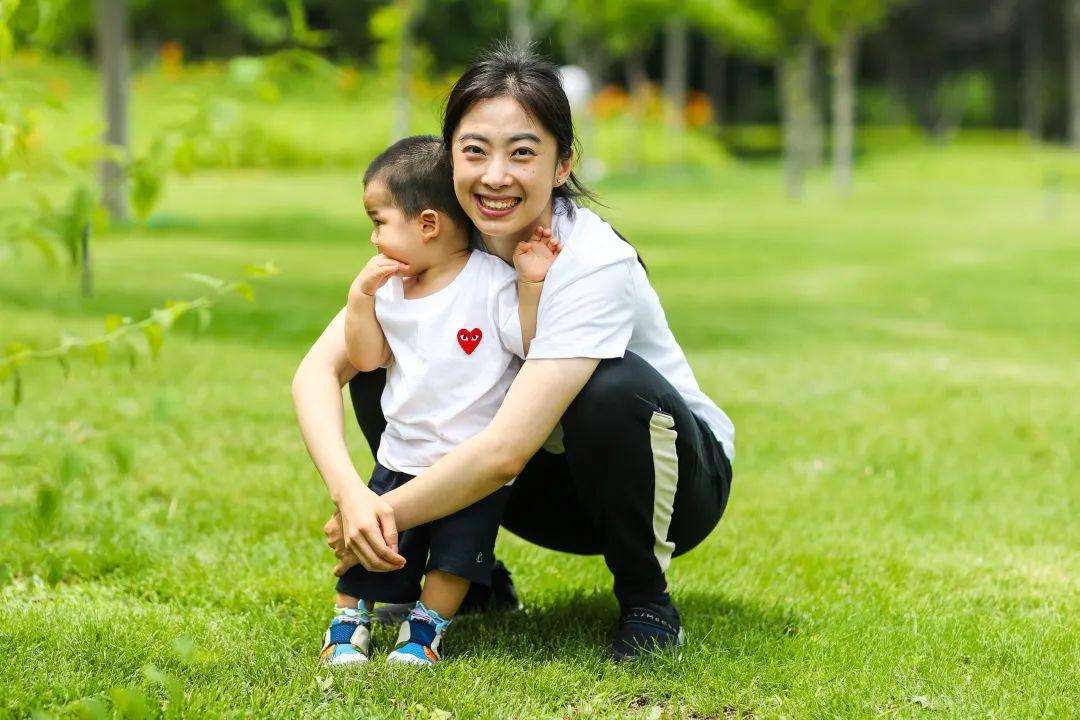 王适娴与宝宝