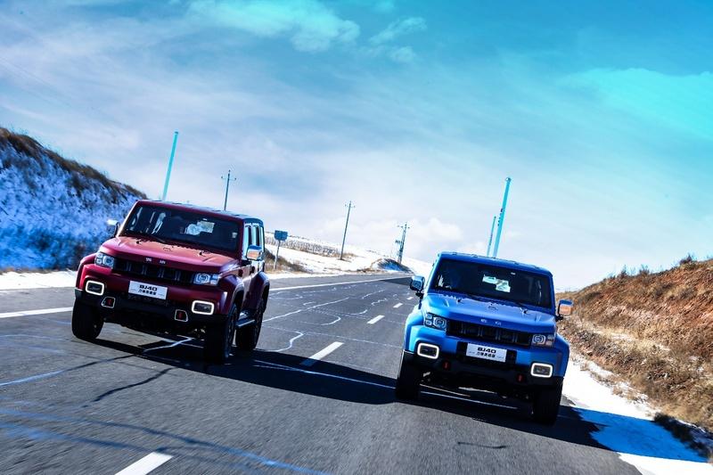 两种外观颜色 北京BJ40刀锋英雄版1月15日预售