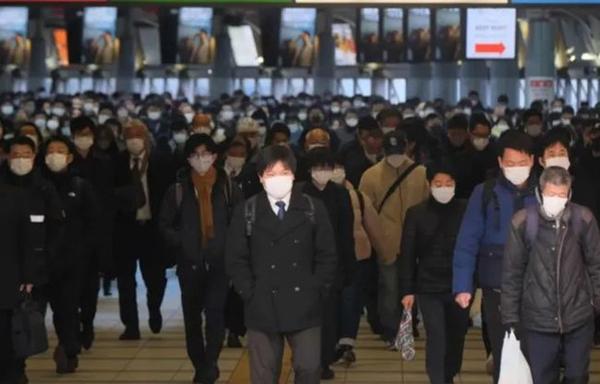 图说:日本疫情不容笑不益看