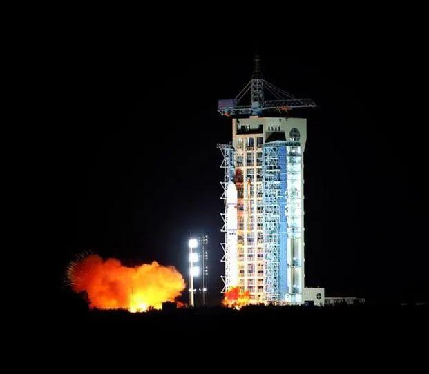 ▲2016年8月16日中国在酒泉成功发射世界首颗量子卫星。新华社