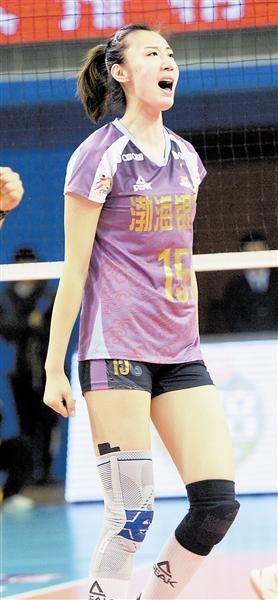 王媛媛等待登上奥运舞台 两点副攻展现进攻实力