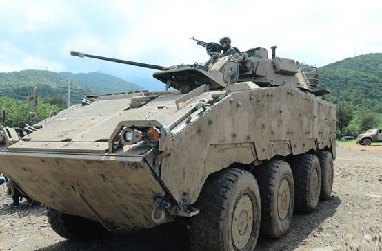 资料图:台军CM34云豹装甲车