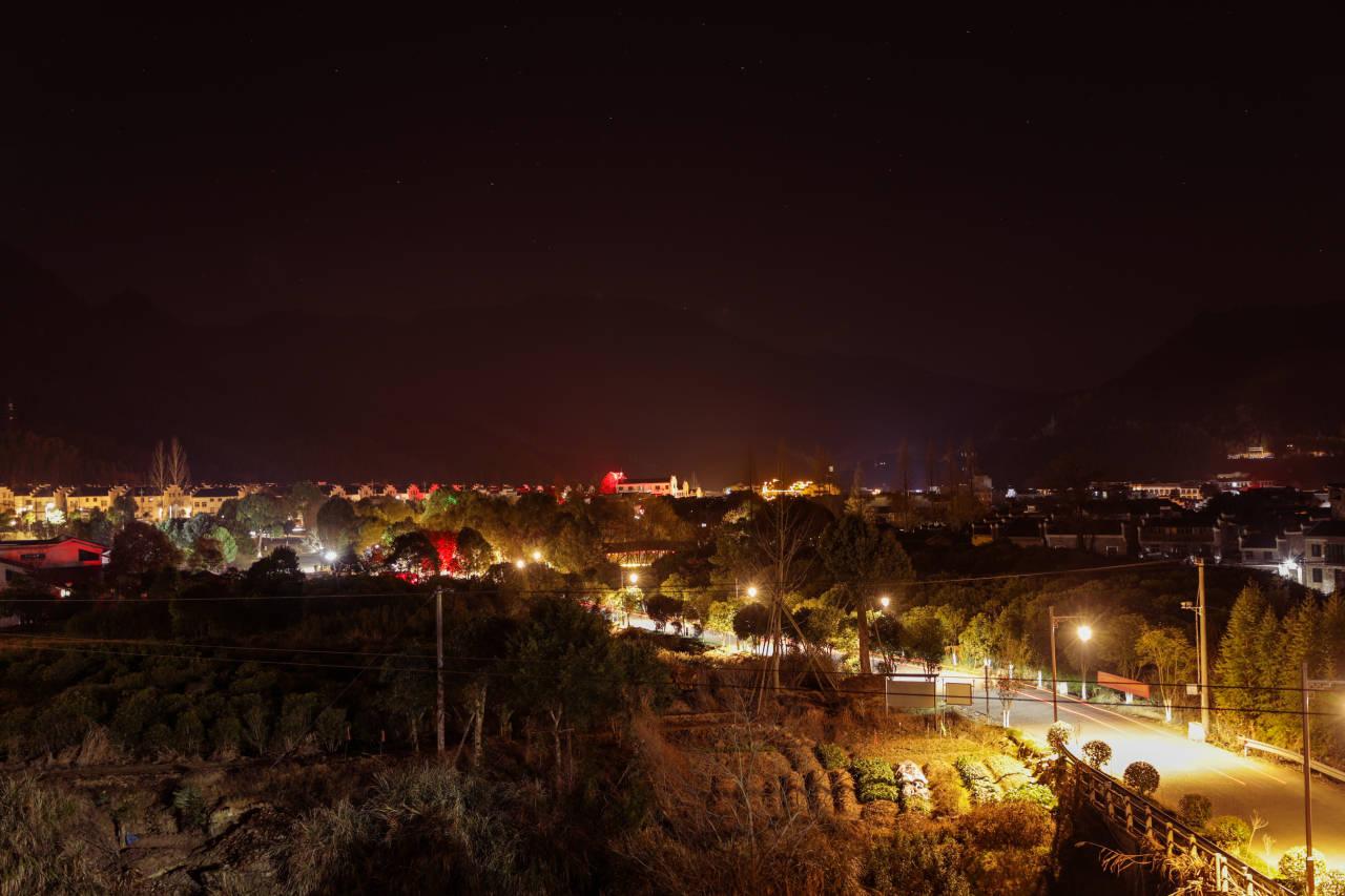 亮化工程,点亮江山廿八都古镇夜间之美!