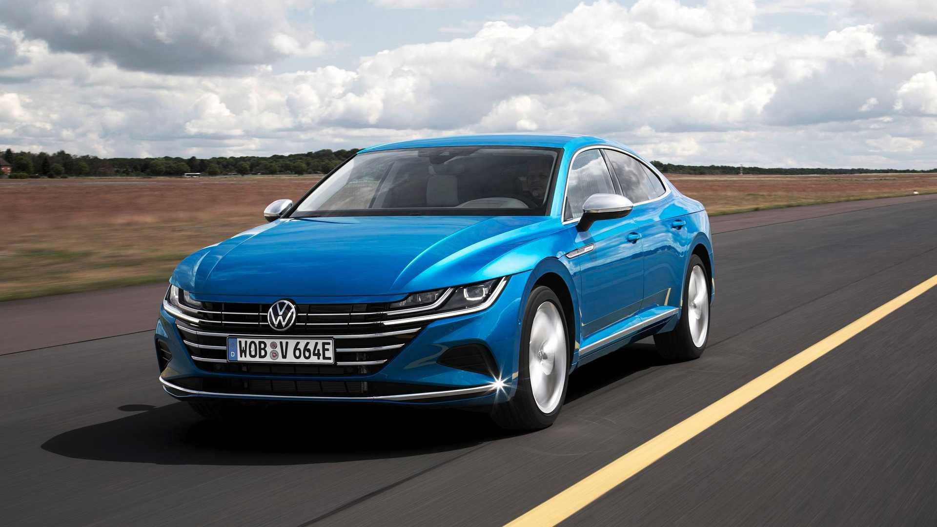 提供两种风格可选 大众CC推出插电混动版车型