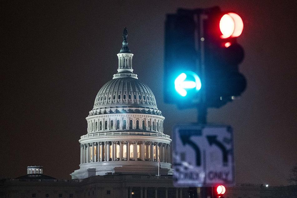 位于美国华盛顿的国会大厦 新华社 资料图