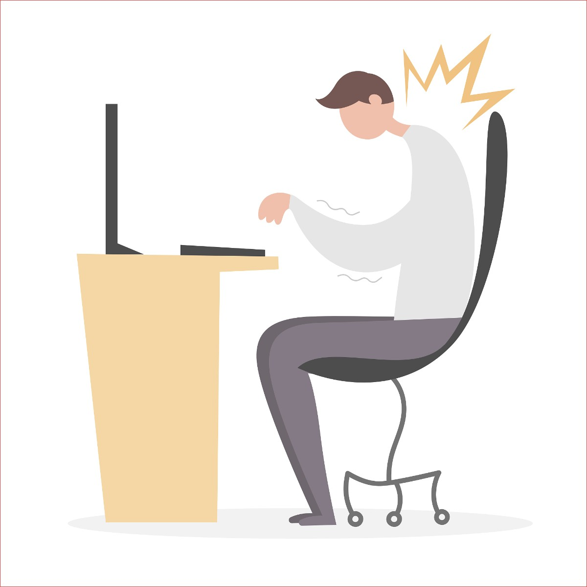 """办公椅上的这些""""小动作"""",能减轻久坐危害"""