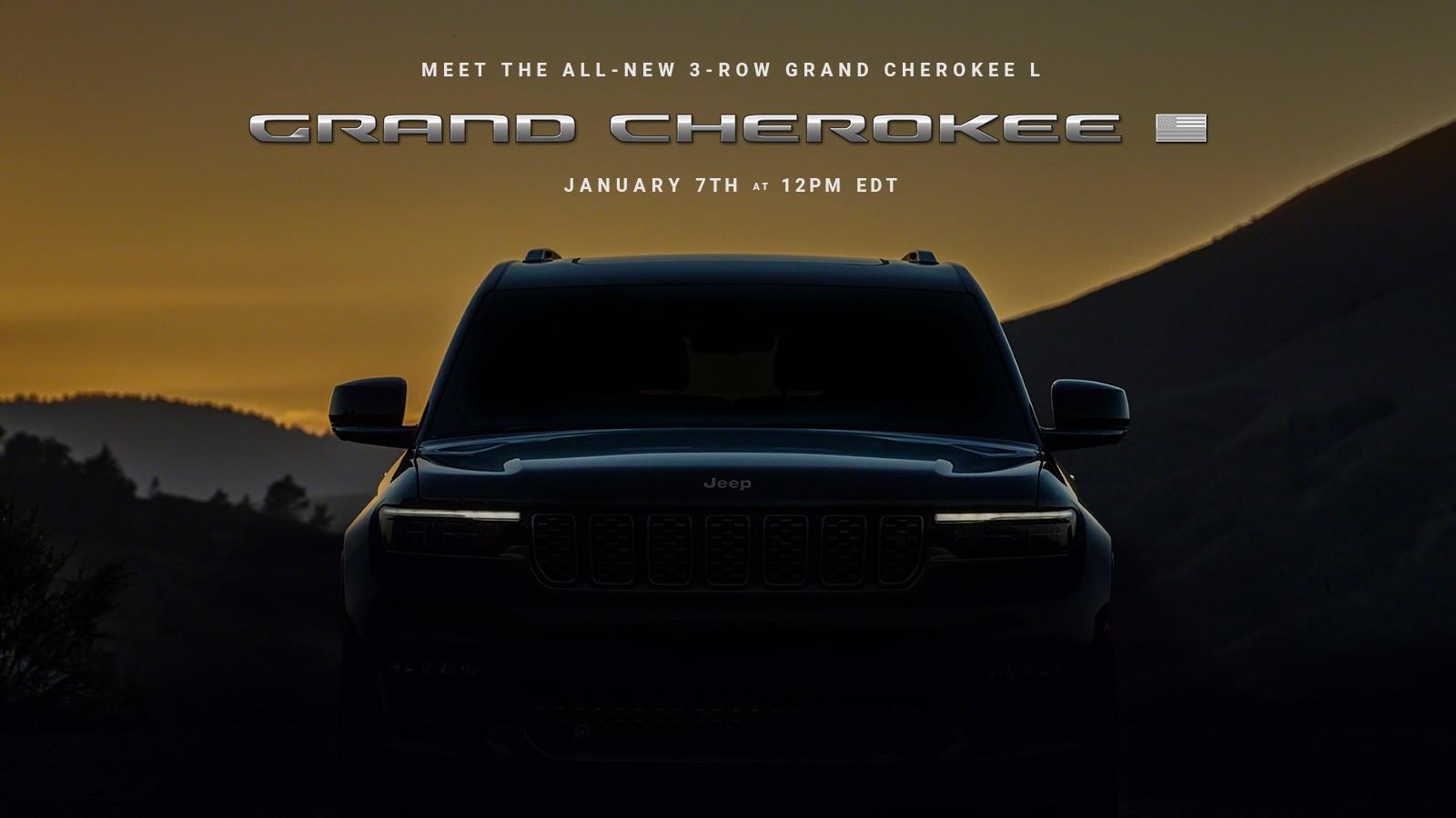 外观更硬派/车身加长 全新Jeep大切诺基即将发布
