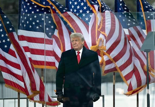 美媒:200多名美国会议员支持罢免特朗普