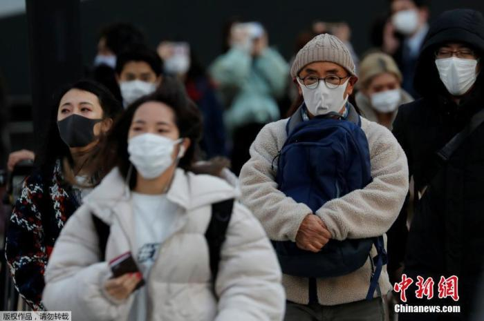 原料图:疫情下的日本。