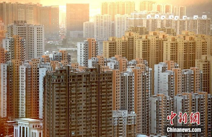资料图:房地产楼盘。中新社记者 张斌 摄