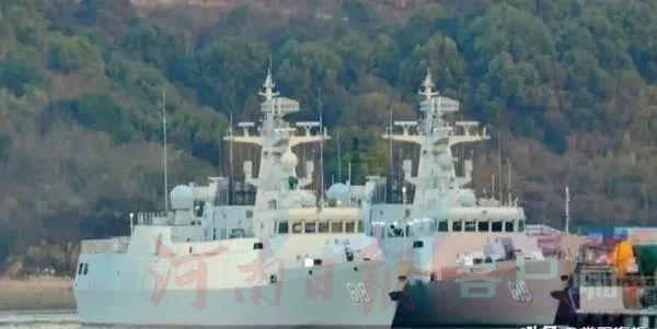 南阳舰、商丘舰已正式入列海军