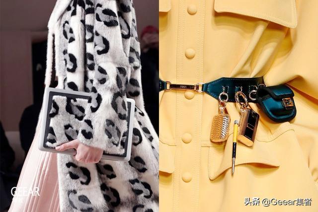 Apple Watch的时髦戴法:表壳挂在包包上刚刚好