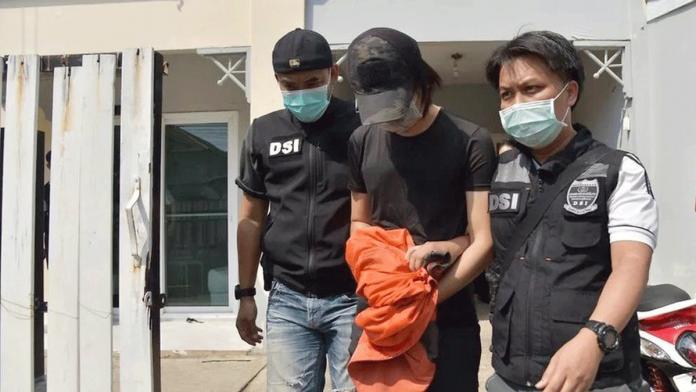 丹努特被警方逮捕(图源:外媒)