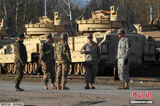 美媒:如与俄军开战 北约东线部队将不堪一击