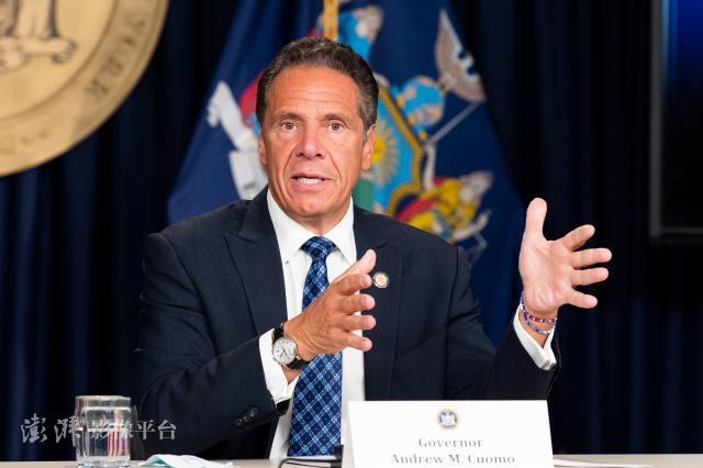 纽约州长科莫 图源:澎湃影像平台