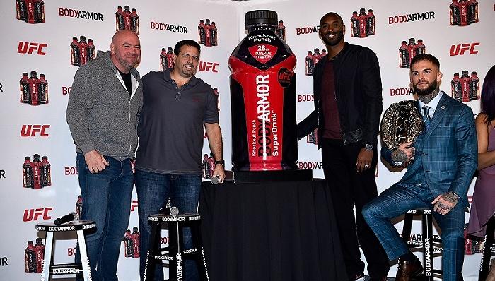 签下体坛众星代言,科比的最佳投资BodyArmor将被可口可乐收购