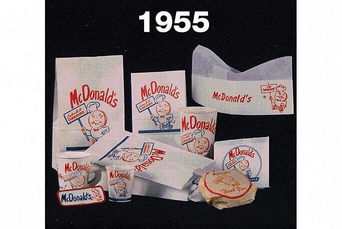 麦当劳历史包装