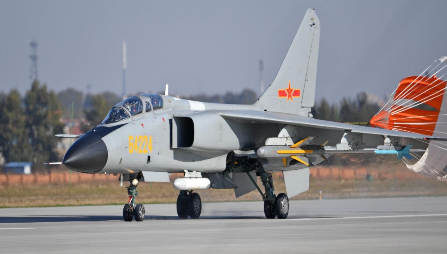 台湾防务部门公布的解放军歼轰-7资料图