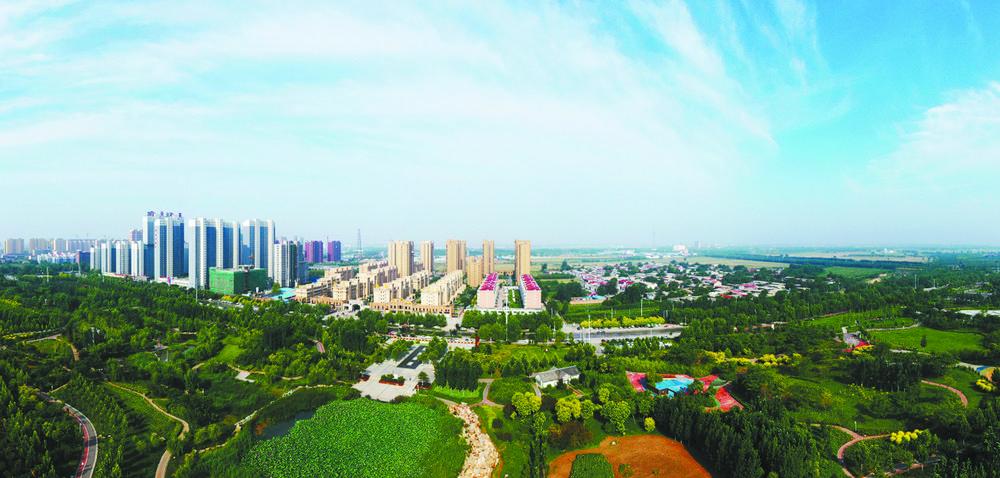 全面建设经济强县、文化名城、美丽赵州
