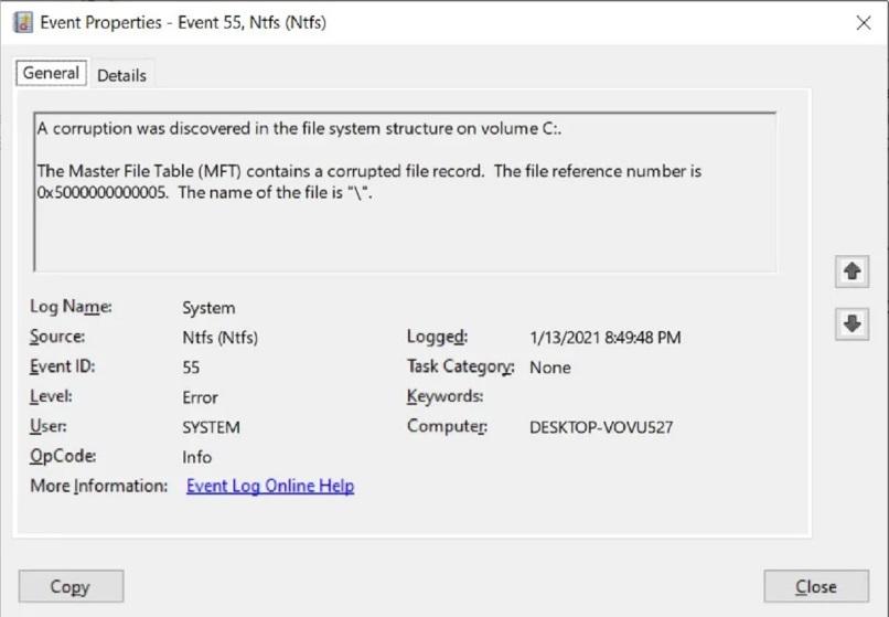 微软正修复 Win10 快捷方式短字符串损坏 NTFS 硬盘 Bug