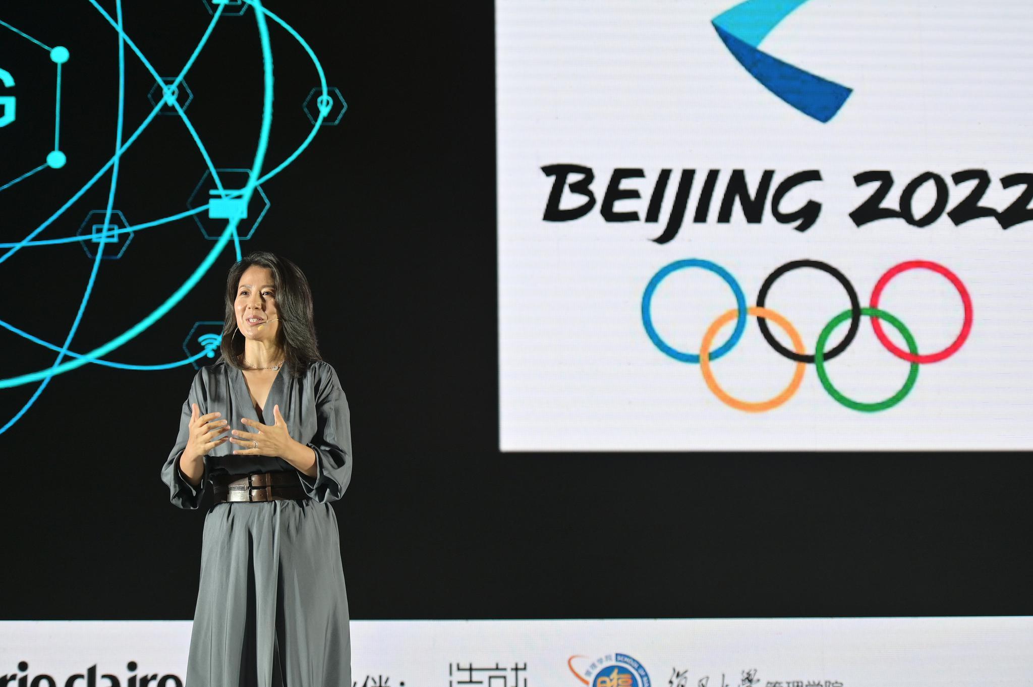 取得举行权后,杨扬成为了北京冬奥会组委会运动员委员会的主席。