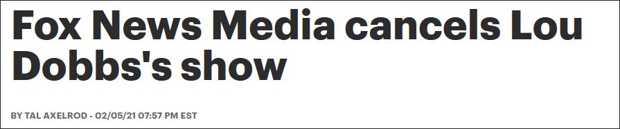 专拍特朗普马屁的主持人遭电视台封杀 特朗普发声