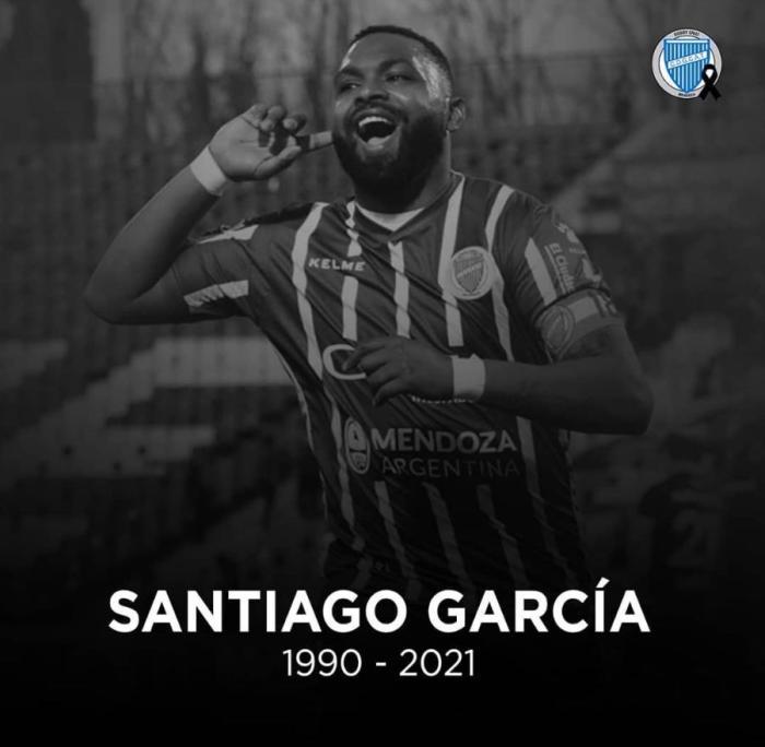 公寓自杀身亡!乌拉圭31岁前锋圣地亚哥-加西亚离世
