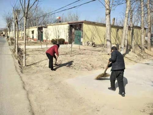 寿张集镇开展清洁村庄行动