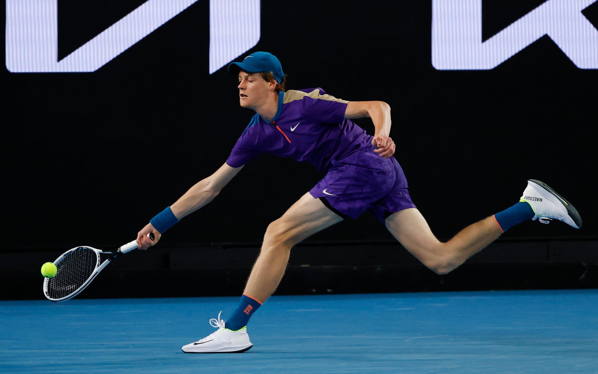 澳网青春对决辛纳憾负,最大收获是与纳豆合练