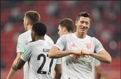 世俱杯-莱万双响 拜仁2比0战胜开罗国民挺进世俱杯决赛