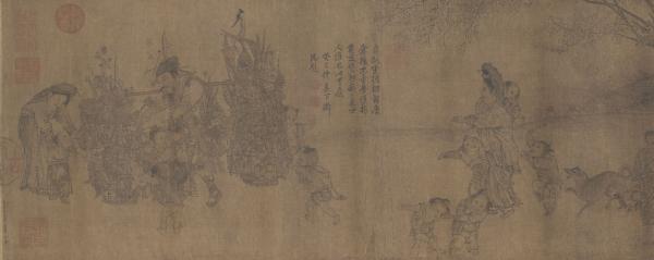 """台北故宫将展""""画琳琅"""":看宋元明清""""货郎图"""""""