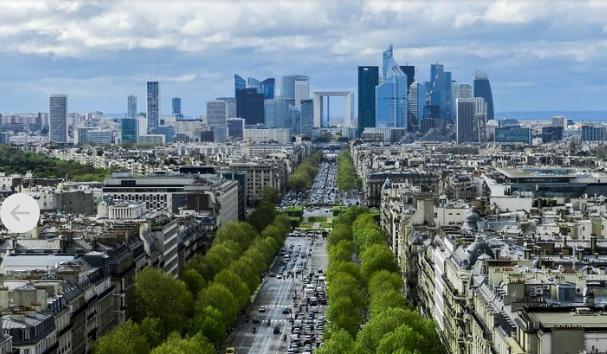 ▲20家法国顶尖企业中有14家汇聚在拉德芳斯区,在这里设置总部的法企有兴业银行,道达尔,赛诺菲,安塞乐等。