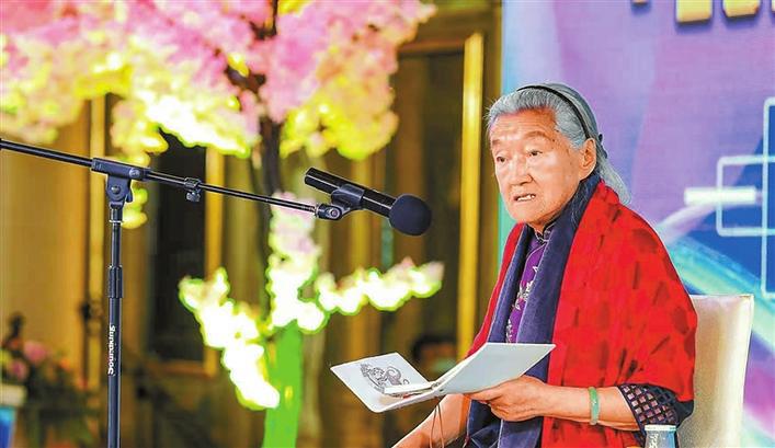 """""""褚橙之母""""对话深圳女企业家 马静芬做客木棉论坛分享传奇人生"""