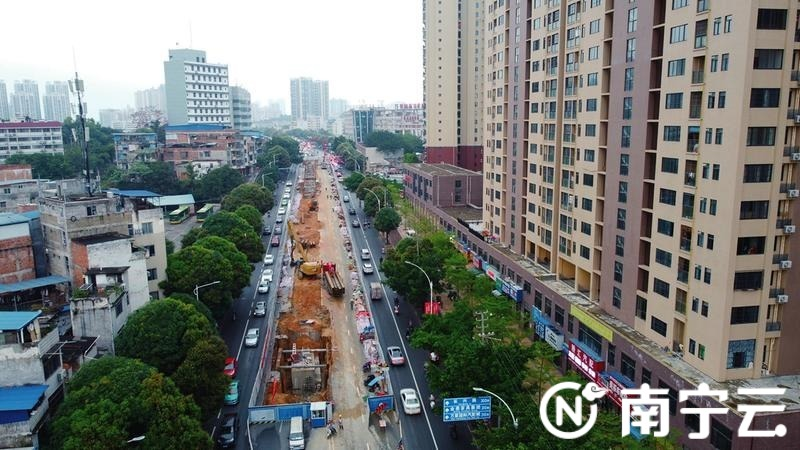 南宁望州路缆线管廊计划10月底完工 为实现城区平均停电时间少于1小时