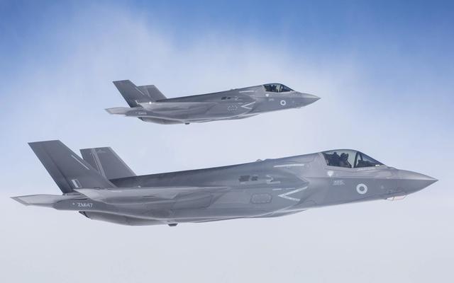 英国军队装备的F-35战斗机