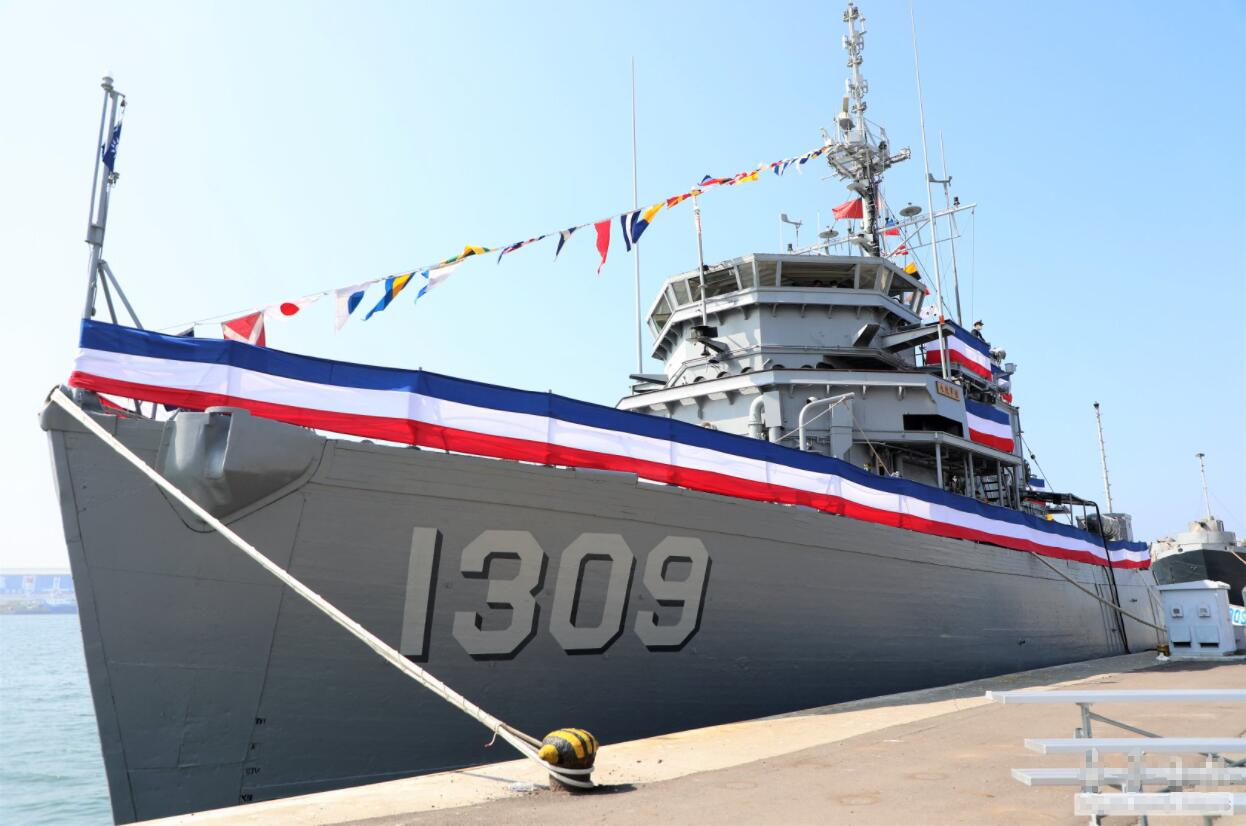臺軍服役65年的老爺艦正式退役 參加過越南戰爭(圖)
