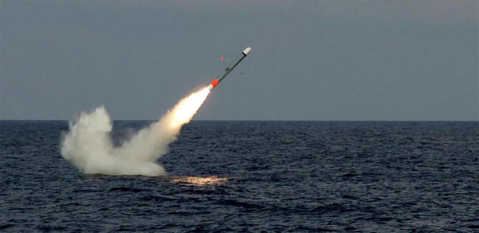 """""""战斧""""导弹目前仍是美国海军对地打击的主要手段 图片来源:维基百科"""