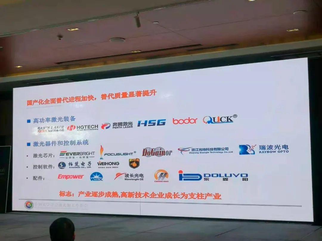 激光产业国产替代进程全面提速 行业