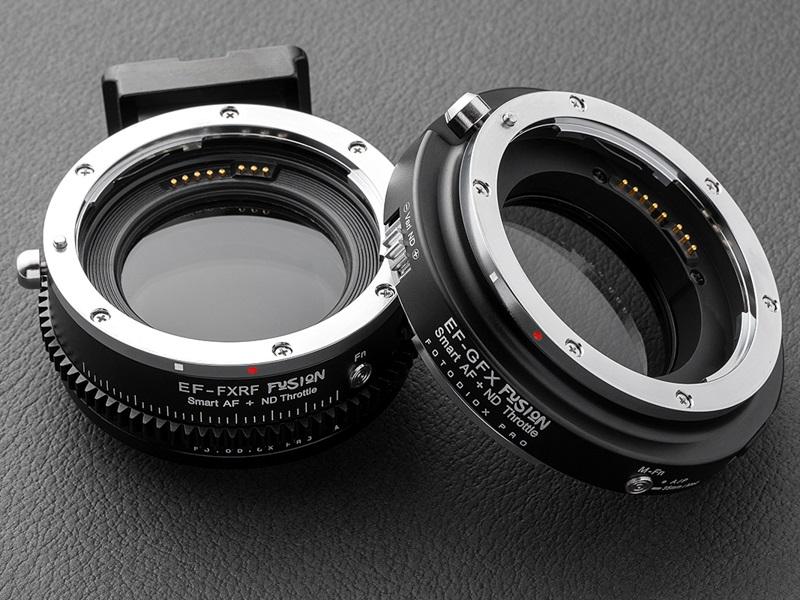 日本厂商推出佳能 EF - 富士卡口镜头转接环:内置可调 ND 滤镜