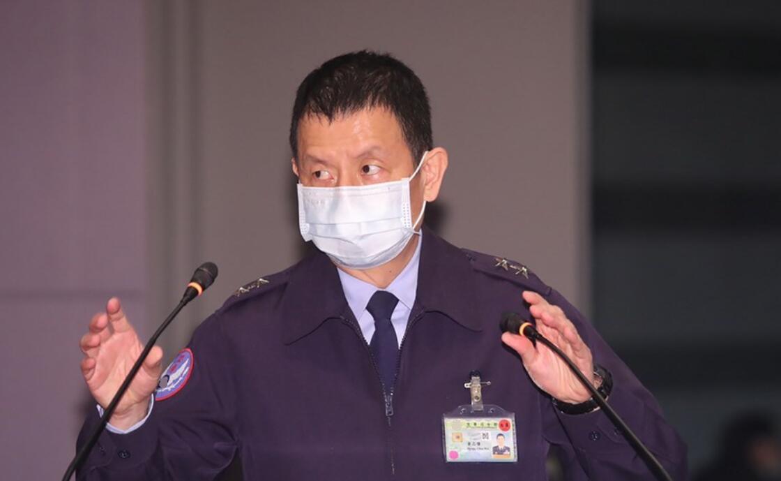 """空军参谋长""""黄志伟"""" 图源:台媒"""