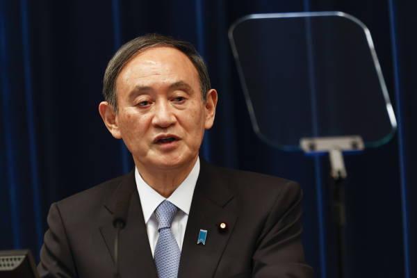 日本首相菅义伟:朝鲜发射弹道导弹威胁地区安全