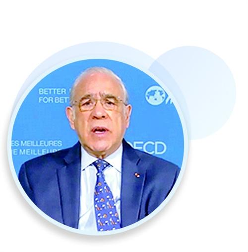 经济合作与发展组织秘书长安赫尔·古里亚:完善全球经济治理离不开中国