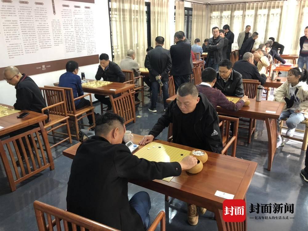 四川眉山东坡区棋类运动协会成立  6区县爱好者以棋会友